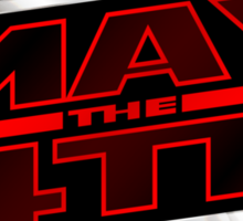 Happy May the 4th! (Slanted) Sticker