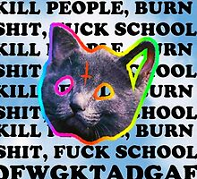 OFWGKTA Kill People Fuck School by marchewia