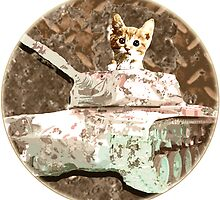 Tanks cat by Rob Cox