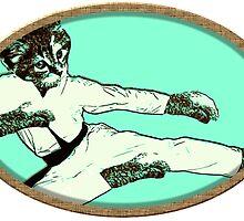 Karate Kat by Rob Cox
