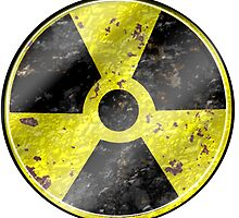 Fallout Nuke raditation symbol design by Rob Cox