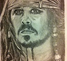 Johnny Depp - Pirates of the Caribbean by deeza
