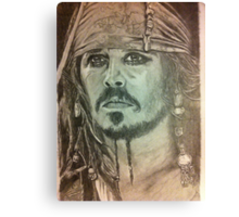 Johnny Depp - Pirates of the Caribbean Canvas Print