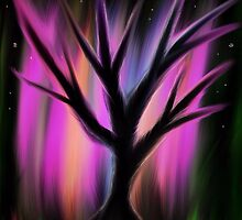 magic rainbow tree by tia knight by Tia Knight