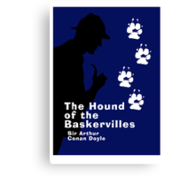 The Hound of the Baskervilles Book Cover Canvas Print