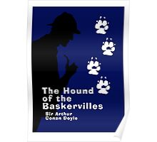 The Hound of the Baskervilles Book Cover Poster