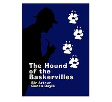 The Hound of the Baskervilles Book Cover Photographic Print