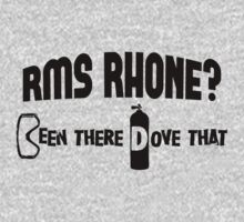 RMS Rhone Scuba Diving by Location Tees