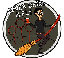 Never Drink & Fly by Kirstendraws