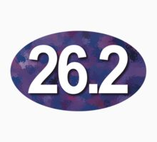 26.2 Oval Sticker by robotface