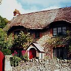 Thatched Cottage.....Isle of Wight ! by Roy  Massicks