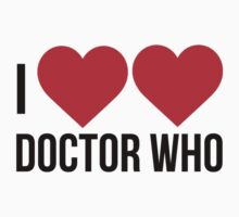 I Heart Heart Doctor Who by swxg