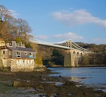Menai Bridge by dilyst
