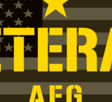VETERAN - Afghanistan - I Served Sticker Sticker