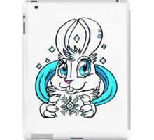 Cute Bunny - Snow Bunny iPad Case/Skin