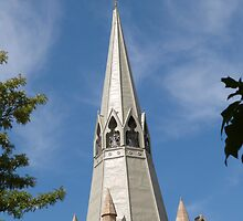Beautiful Spire! St. Paul's Lutheran Church, Hahndorf, Adelaide Hills. by Rita Blom