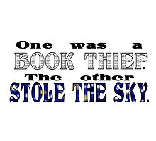 Book Thief/Sky Stealer by mollylee