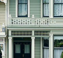 historic house fronts by photoeverywhere