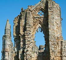 Whitby Abbey ruins by photoeverywhere