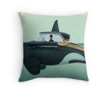 The Turnpike Cruiser of the sea Throw Pillow
