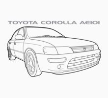 Toyota Corolla AE101 GT Sedan Ver.2 by TERRAOperative