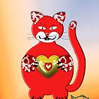 Red Cat by RosiLorz