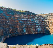 Mary Kathleen Uranium Mine by isaeagle