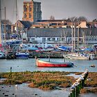 Shoreham - West Sussex - The Golden Hour  - HDR by Colin J Williams Photography