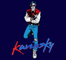 Kavinsky Blue by Louis Bellissant