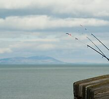 Fishing off the pier at Whitehaven by photoeverywhere
