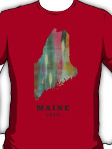 maine state map T-Shirt