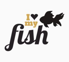 I love my fish by blackestdress