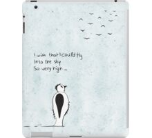 I wish that I could fly iPad Case/Skin