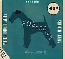 the fox terrier vintage  by bri-b
