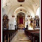Stadtpfarrkirche Weilheim Interior by ©The Creative  Minds