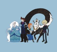 Frozen Time - Adventure Time/Disney's Frozen by Zack Cogburn