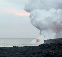 Kalapana Lava Flow by photoeverywhere