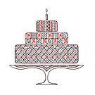 Patterned Cake by Mariya Olshevska