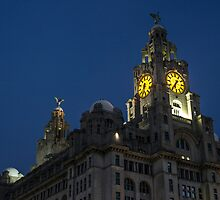 The Liver Building by Paul Madden