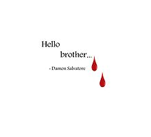hello brother by daisylouise