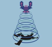 Galaga Abduction Kids Clothes