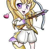Tera Elin Archer Chibi by Crysteria