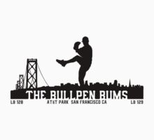 BullPenBums (Black v1) Kids Clothes