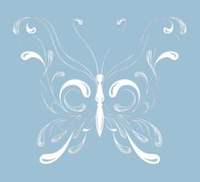 "Butterfly ""Ocean Spray"" Butterflies Papillon by artkrannie"