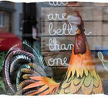 Reflections of Deco Chicken by Keala