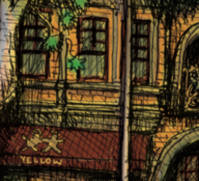 The Yellow House, Potts Point Sticker