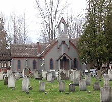 Church Yard Cemetary by Kathleen Brant