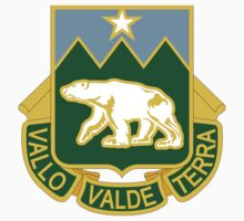 761st Military Police Battalion - Vallo Valde Terra - Defending The Great Land by VeteranGraphics