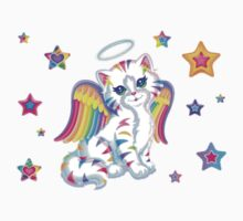 Lisa Frank Rainbow Kitten by mickykk123