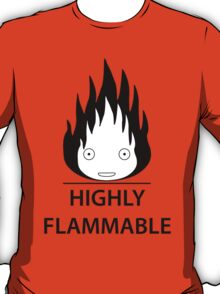 Highly Flammable and Talkative Flame T-Shirt